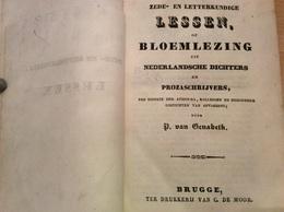 P VAN GENABETH - Zede- En Letterkundige Lessen, Bloemlezing Uit Nederlandsche Dichters En Prozaschrijvers - Livres, BD, Revues