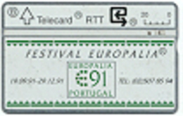 BRTT-1991 : 129E I S37 EUROPALIA 91   129E I MINT - Belgique