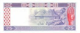 GUINEA P. 28a 25 F 1985 UNC - Guinée
