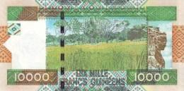 GUINEA P. 42a 10000 F 2007 UNC - Guinea