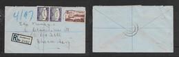 S.Africa Registered  ,domestic Cover, 5 1/2d, DELMENVILLE 3.V.49 > Johannesburg - South Africa (...-1961)