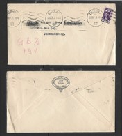 S.Africa Domestic Cover From JAMES BROWN LTD ENGINEERS, 2d, DURBAN 23 SEP 43 > Johannesburg - South Africa (...-1961)