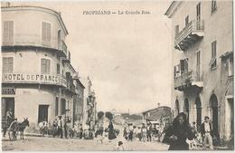 CORSE CPA PROPRIANO - La Grande Rue  Animée - Très Bon état - France