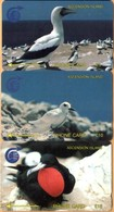 Ascension - GPT, 2CASA/B/C, Set Of 3 Cards, White/Fairy/Frigate Bird, 5/10/15£, 1991, Used - Ascension