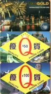 Hong Kong - Remote Memory, 3 Different Phonecards, Used - Hong Kong