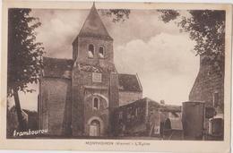 MONTHOIRON (86) CPA L'église - France