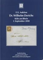 Derichs Königreich Preussen Mit Starker Auslandspost September 2018 - Auktionskataloge