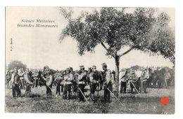 35418-ZE-MILITARIA-Scènes Militaires-Grandes Manoeuvres------------animée - Manoeuvres