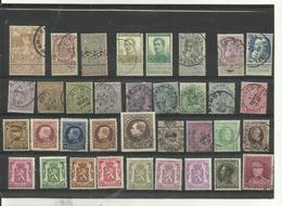 35 Timbres Belgique Années Diverses Lot No 4. - Stamps