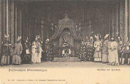 Opéra: Passionsspiel (La Passion) Oberammergau - Christus Vor Herodes - Carte Dos Simple Non Circulée - Opera