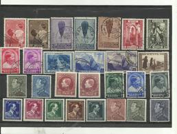 28 Timbres Belgique Années Diverses  Lot No 5. - Stamps