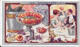 CHROMO Ets AU PLANTEUR De CAIFFA - Salade De Fruits Carte N°27 - BARA - - Trade Cards