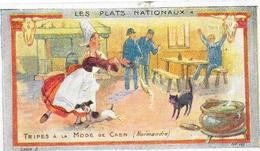 CHROMO Ets AU PLANTEUR De CAIFFA - Tripes à La Mode De Caen  Carte N°10 - BARA - - Trade Cards