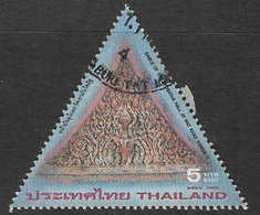 Thailand 2005 Thai Temples 5b Type 2 Good/fine Used [38/31616/ND] - Thailand