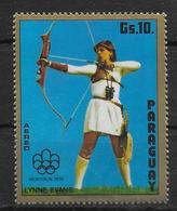 PARAGUAY  PA 705  * * Jo 1976  Tir A L Arc - Boogschieten