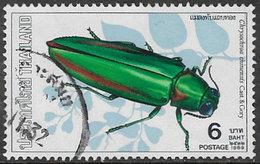 Thailand SG1440 1989 Beetles 6b Good/fine Used [38/31614/4D] - Thailand