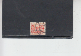 TAILANDIA 1954-57 - Yvert S 17 (servizio) - Tailandia