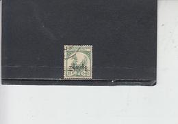 TAILANDIA 1954-57 - Yvert S 30 (servizio) - Tailandia