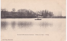 16 Charente - Environs De MONTMOREAU - Château De La Faye - L'Etang - Dos Simple - Frankrijk