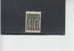 GRECIA  1966 - Unificato 904° - Arte  - Icona - Grecia