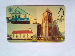 314CFKB 2000 Years Jesus 10 Pounds - Falkland Islands