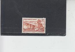 A.O.F.1947  - Yvert 47° - Ponti - Ponti