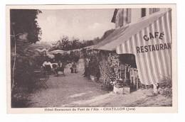 Hôtel-Restaurant Du Pont De L'Ain.Chatillon.39. - Altri Comuni