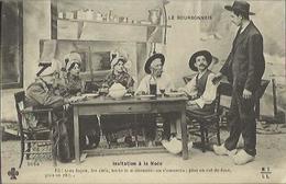 1088 CPA Invitation à La Noce (Costume - Folklore) - Marriages