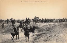 Thématiques 2018 Commémoration Fin De Guerre 1914 1918 N° 11 Artillerie Montée Sortie Du Fossé - Guerre 1914-18