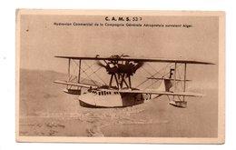 AVION . HYDRAVION COMMERCIAL DE LA COMPAGNIE GÉNÉRALE AÉROPOSTALE SURVOLANT ALGER - Réf. N°19837 - - 1919-1938: Entre Guerres