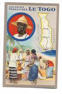 Colonies  Françaises   -    Le  Toga - Maps