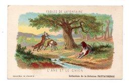 """FABLES DE LAFONTAINE . """" L'ÂNE ET LE CHIEN """" . COLLECTION DE LA SOLUTION PAUTABERGE - Réf. N°19838 - - Fairy Tales, Popular Stories & Legends"""
