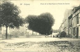 89  JOIGNY - PLACE DE LA REPUBLIQUE ET PALAIS DE JUSTICE (ref 2706) - Joigny