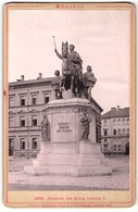 Fotografie Römmler & Jonas, Dresden, Ansicht München, Denkmal König Ludwig I. - Orte
