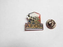 Beau Pin's , Auto Rallye , AFOR , Association Française Des Organisations De Rallycross - Rally