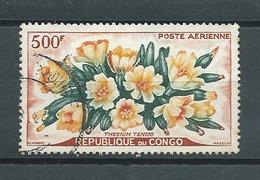 CONGO - BRAZZAVILLE -  Yvert  PA N° 4  Oblitéré  THESIUM TENCIO - Congo - Brazzaville