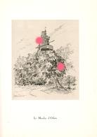 Gravure De Jean Müller  LE MOULIN DE D' OTHEE ( Awans ) - Old Paper