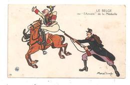 Le Belge Ou L'anvers De La Médaille (C.7594) - Humour