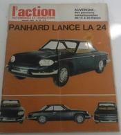 Action Automobile Juillet 1963 Spécial 24 Heures Du Mans, Panhard 24, Tourisme Auvergne,Autocar Berliet - Auto/Moto