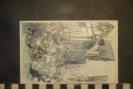CP, Illustrateur ROBIDA, Jeanne D'Arc Et La Troupe De Sortie Descendent Vers La Porte Du Pont ...24 - Robida