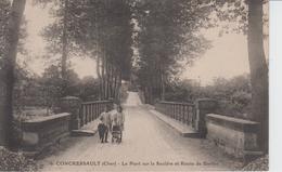 CHER - 6 - CONCRESSAULT - Le Pont Sur La Sauldre Et Route De Barlieu - Autres Communes