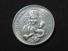 Médaille Papale  Jean-Paul II - O.L.Czestochowa Ora Pro Nobis **** EN ACHAT IMMEDIAT **** - Royal / Of Nobility