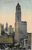 ETATS UNIS-Woolworth Bidg New York City-MO - Andere Monumenten & Gebouwen