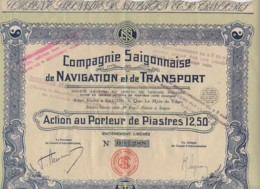 VIET-NAM-SAÏGONNAISE DE NAVIGATION ET DE TRANSPORT. DECO - Other
