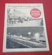 """Revue Des Usagers De La Route N°165 Octobre 1931 Usones Tecalemit Puteaux,Chenard Et Walcker,Delage,Pepa Bonaf"""" - Auto"""