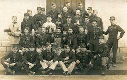 Militaria Militaire Carte Photo De Soldats Du 155 ème Régiment - Characters