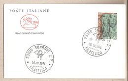 Italia - Busta FDC Con Serie Completa:Centenario Dell'Ordine Forense - 1974 * G - 6. 1946-.. Republic