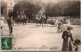 08 SEDAN - Revue Du 14 Juillet 1904, Arrivée Général Soyer - Sedan