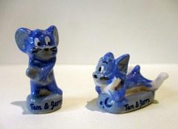 Fèves Brillantes -  Les Rêves De Tom & Jerry (bleu Et Blanc) - TM & TEC - Cartoons