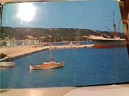 GRECE KATAKOLON PORTO NAVE SHIP CARGO BATEAU CATANIAN TIMBRE SELO STAMP 18+22 HELLAS GX5613 - Grecia